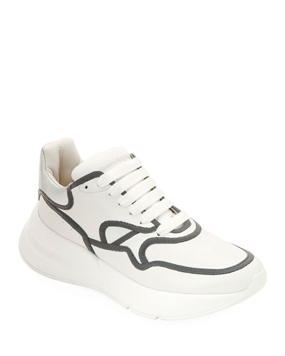Men's McQueen Leather Runner Shoes