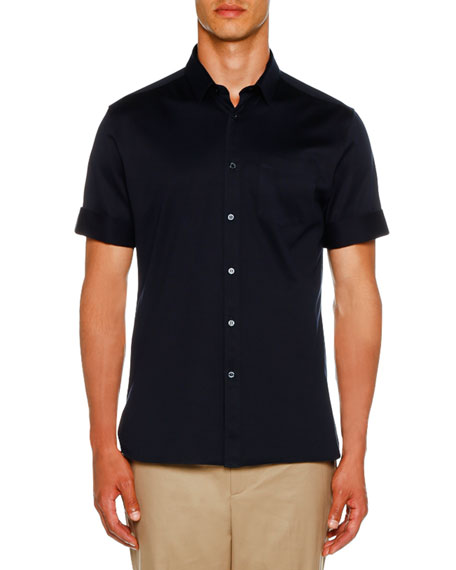 Neil Barrett Men's Short-Sleeve Knit Shirt