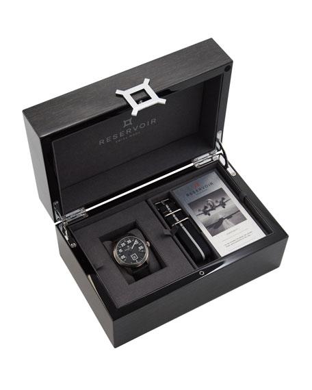 Reservoir Men's AirFight Titane Stainless Steel Watch