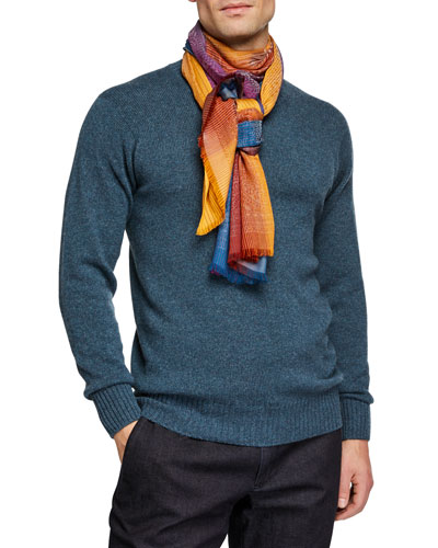 Men's Gradient Viscose Scarf