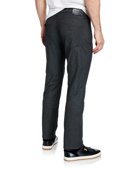 Emporio Armani Men's J15 Stretch 5-Pocket Pants