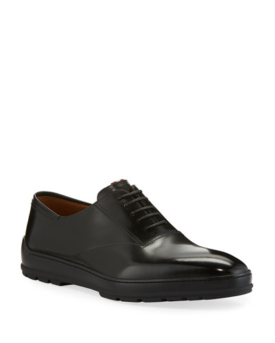Men's Renno Leather Lace-Up Shoes