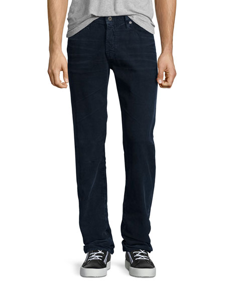 AG Adriano Goldschmied Graduate Sulfur Infantry Corduroy Pants