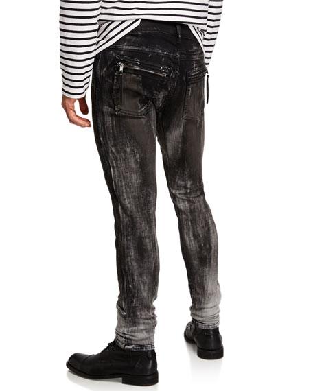 """Diesel Men's """"Amny"""" Distressed Skinny Jeans"""