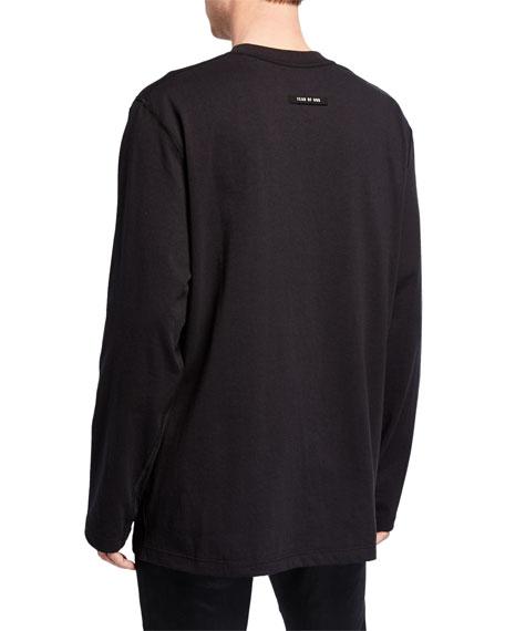 Fear of God Men's Logo Typographic Long-Sleeve T-Shirt