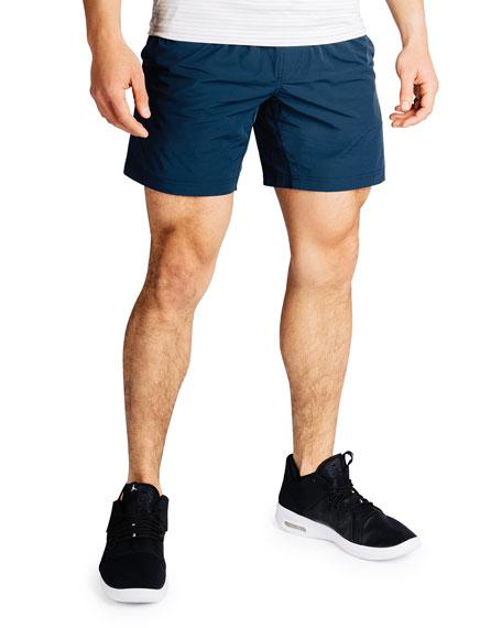 "Rhone Men's Mako 7"" Lined Active Shorts, Navy"