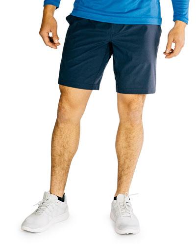 Men's Mako 9 Lined Active Shorts  Navy