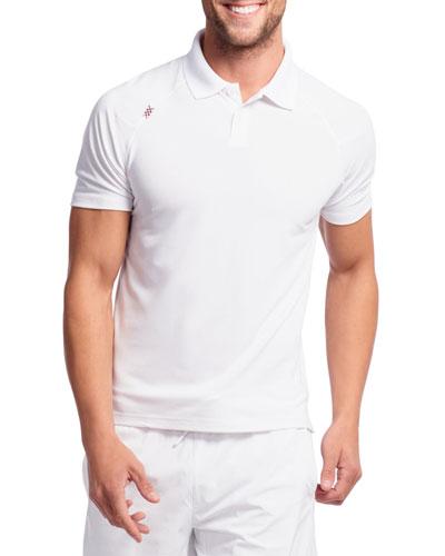 Men's Delta Pique Short-Sleeve Polo Shirt