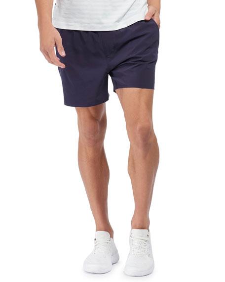 Rhone Men's Swift 5 Lined Running Shorts, Maritime