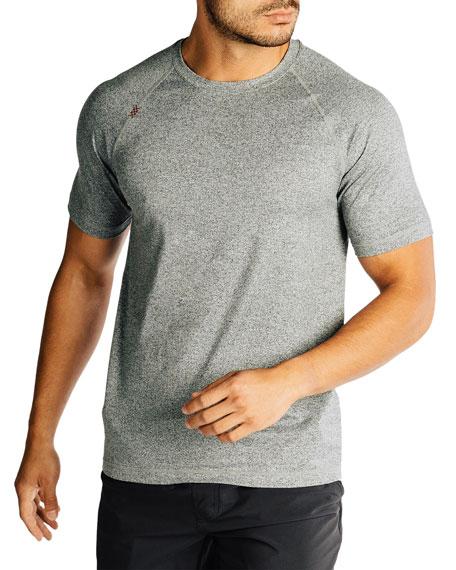 Rhone Men's Reign Heathered T-Shirt, Legacy Gray