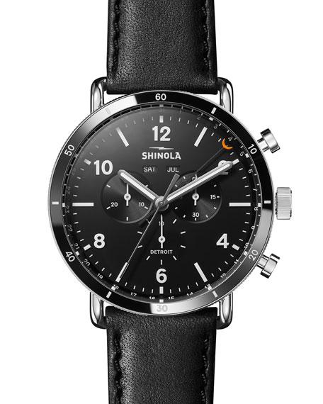 Shinola Men's 45mm Canfield Chronograph Watch