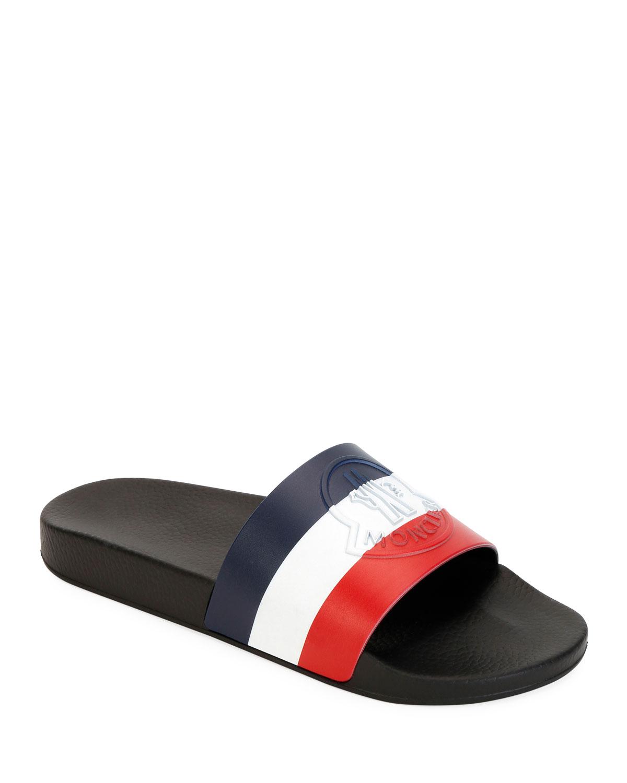 7c29bfde162d Moncler Men s Pool Slide Sandals