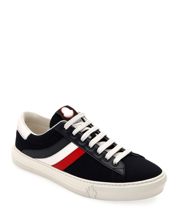 21c6c75908c4 Moncler Men s Montpellier Low-Top Sneakers   Neiman Marcus