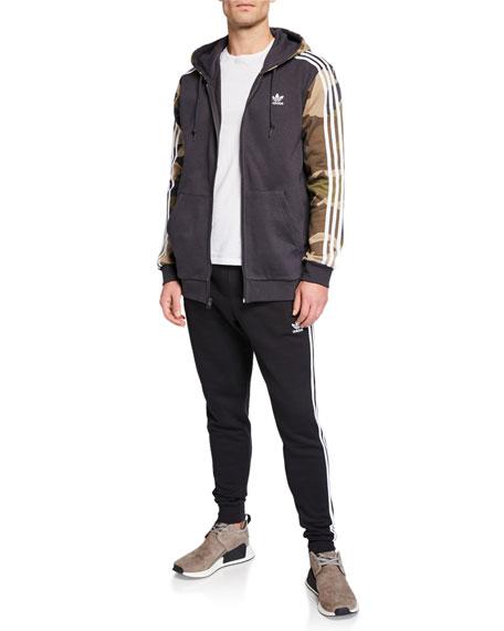 Adidas Men's Three-Stripes Cotton Lounge Pants