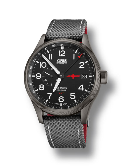 Oris 45mm Men's GMT Rega Limited Edition Watch