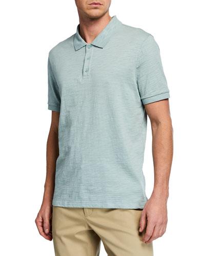 Men's Classic Short-Sleeve Polo Shirt
