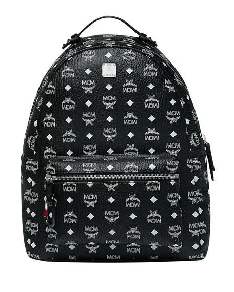 MCM Men's Stark Logo Visetos Backpack