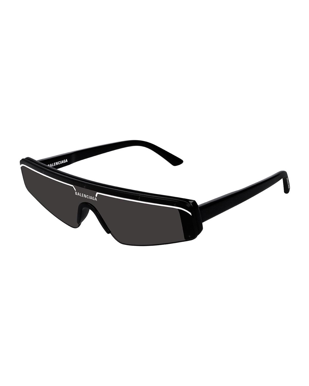 521bd7ea3a6 Balenciaga Men s Ski-Style Acetate Sunglasses