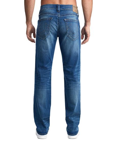 True Religion Men's Ricky Straight-Leg Jeans in Supernova Blues