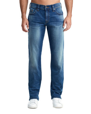 3be975df8 True Religion Men s Ricky Straight-Leg Jeans in Supernova Blues