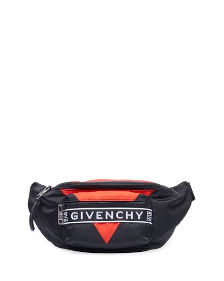 Givenchy Men's Light 3 Triangle Belt Bag