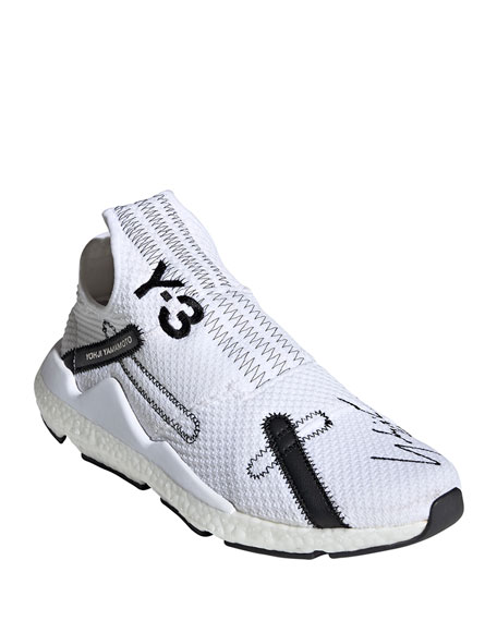 Y-3 Men's Reberu Sock Knit Sneakers