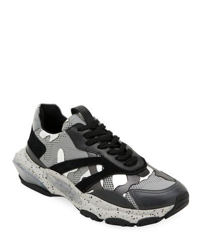 Men's Bounce Camo Runner Sneakers