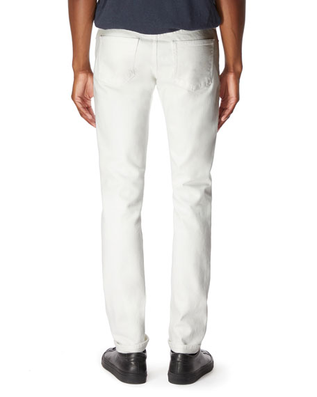 Image 2 of 3: Men's Tyler Tapered Stretch Selvedge Jeans