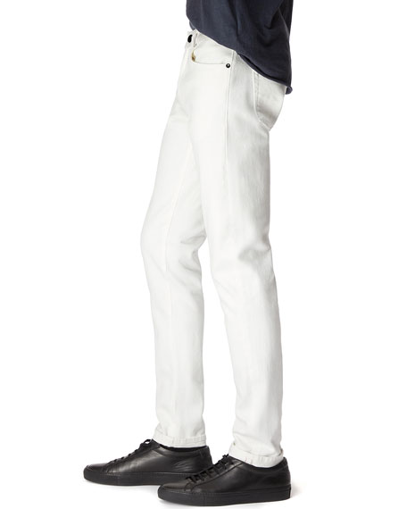Image 3 of 3: Men's Tyler Tapered Stretch Selvedge Jeans