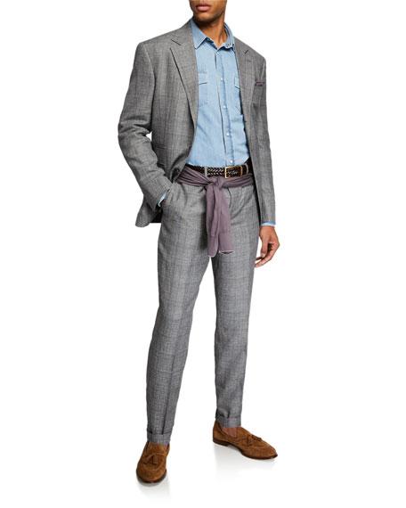Brunello Cucinelli Men's Plaid Two-Piece Suit
