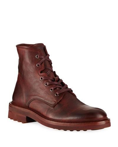 Men's Essex Lace-Up Leather Boots