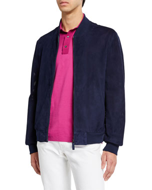 e3379a725e Men's Designer Coats & Jackets at Neiman Marcus
