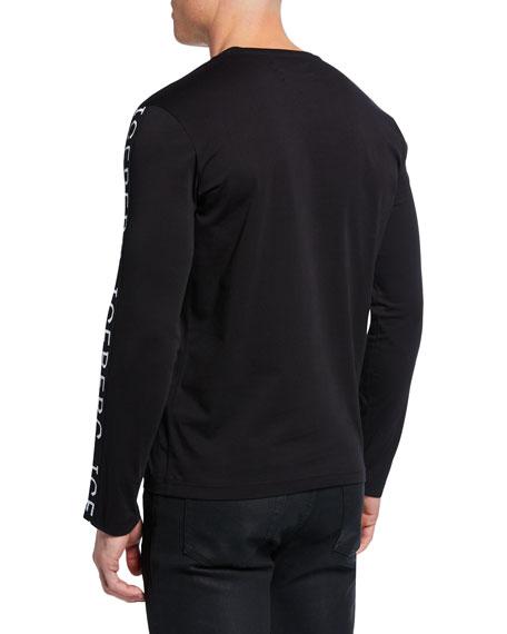 Iceberg Men's Logo-Trim Long-Sleeve T-Shirt