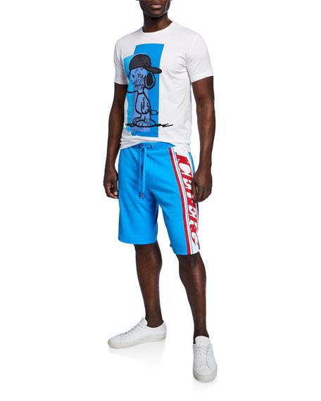 Iceberg Men's Logo-Side Track Shorts