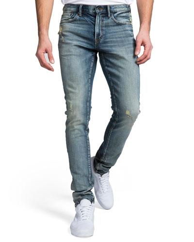 Men's Skinny Windsor Fit Denim Jeans