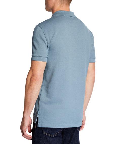 TOM FORD Men's 2-Button Pique Polo Shirt