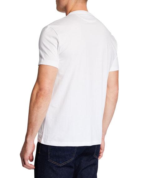 TOM FORD Men's Short-Sleeve V-Neck T-Shirt, White