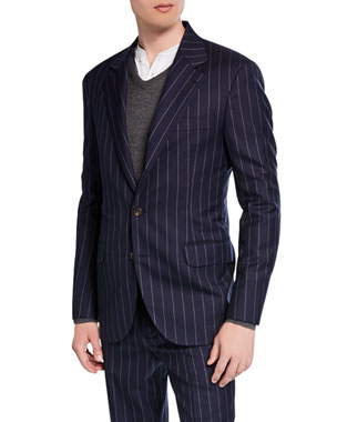 aad93b02ae586 Men's Designer Suits at Neiman Marcus