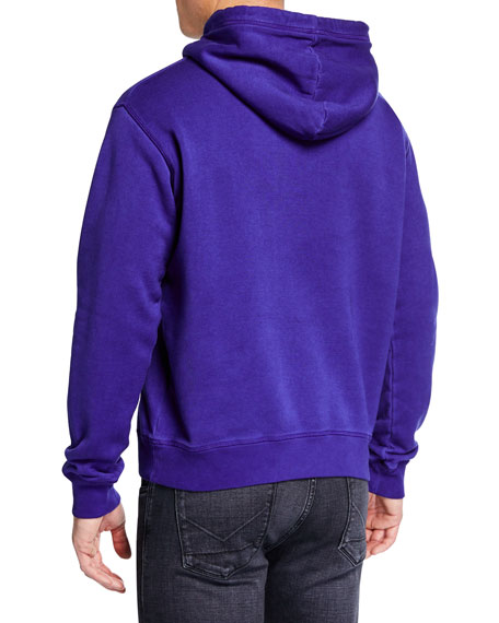 Dsquared2 Men's Logo Graphic Pullover Hoodie