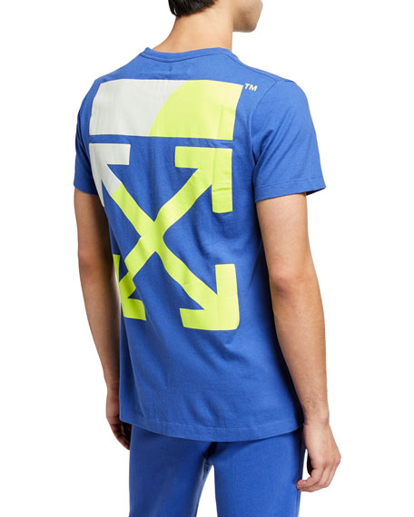 Off-White Men's Split Logo Slim T-Shirt