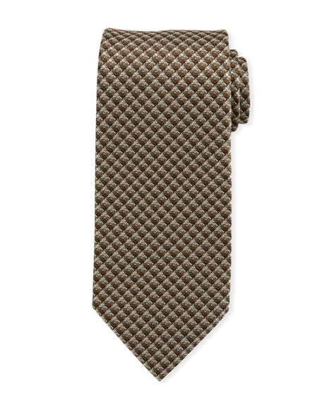TOM FORD Men's Geometric Silk Tie