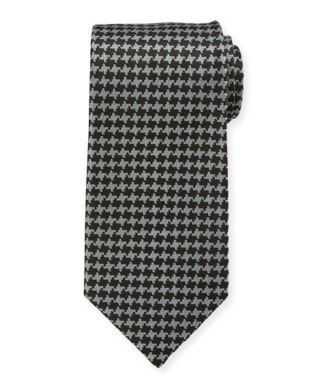 TOM FORD 9cm Houndstooth Tie