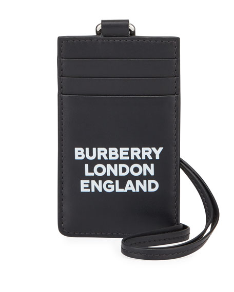 Burberry Men's Elmer Lanyard Card Case