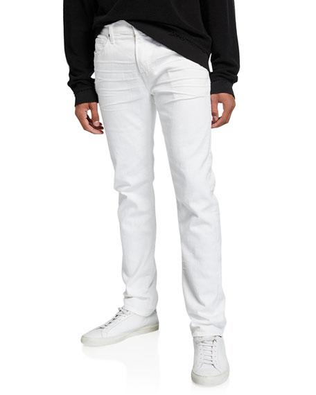 7 For All Mankind Men's Adrien Airweft Straight-Leg Jeans