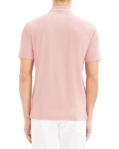 Theory Men's Standard Pique Polo Shirt