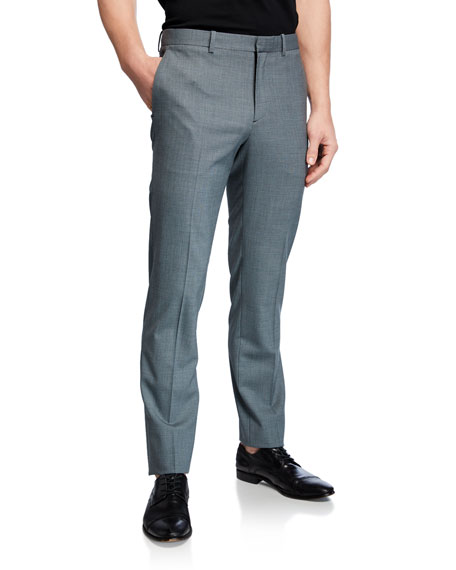 Theory Men's Mayer Slim-Straight Wool Pants