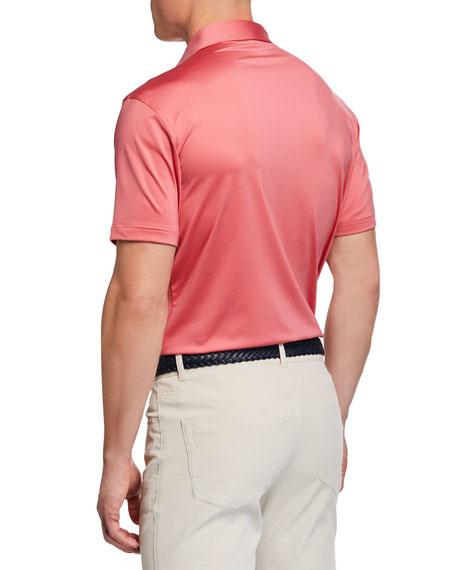 Peter Millar Men's Halifax Stripe Stretch Jersey Polo Shirt