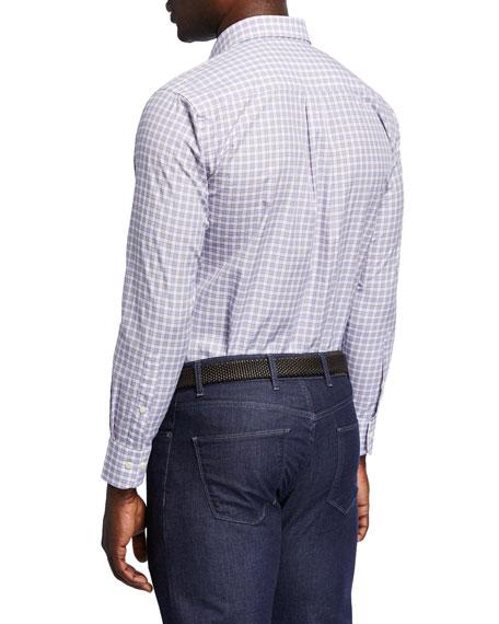 Peter Millar Men's Lewes Glen Check Shirt