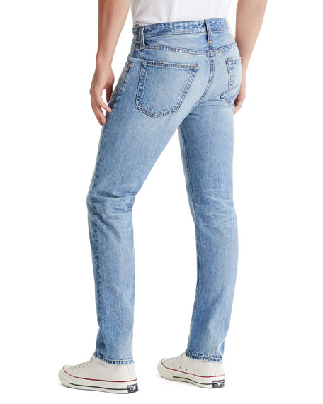 AG Tellis Patched Distressed Jeans