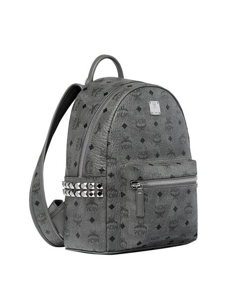MCM Men's Stark Medium Side-Stud Backpack